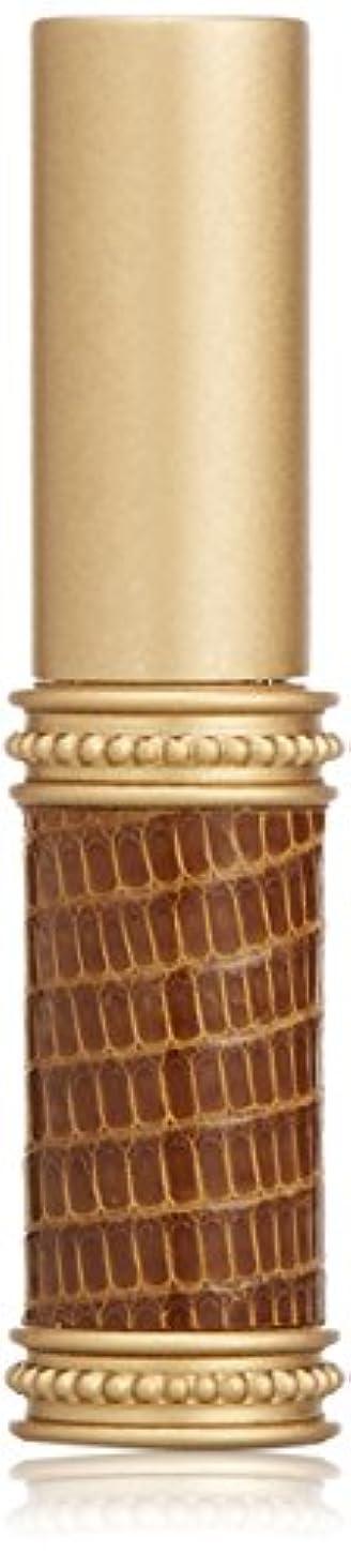 立証する欠伸ほこりっぽいヒロセアトマイザー メタルリザード 28200 BR (メタルリザード ブラウン) リザード本革巻き