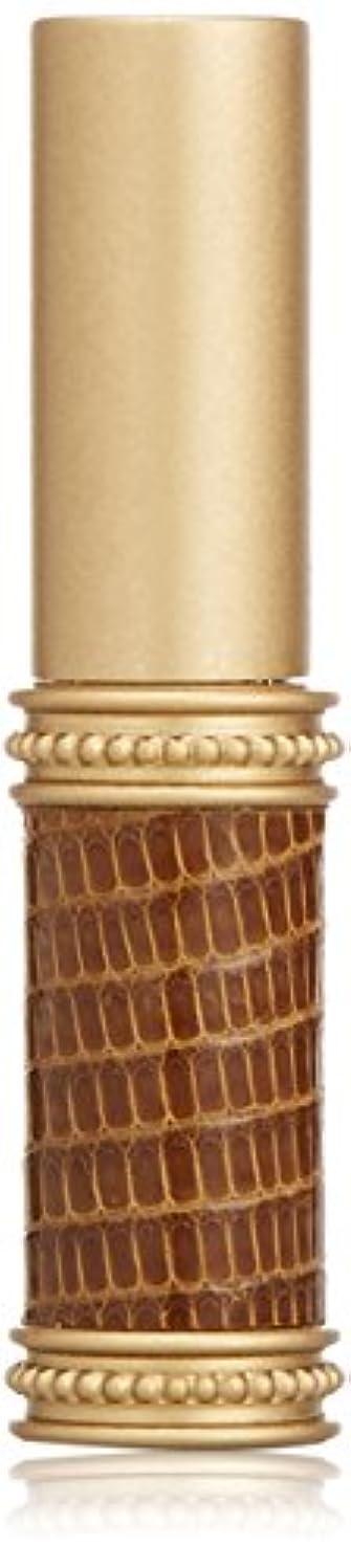 本質的ではないパラナ川やさしいヒロセアトマイザー メタルリザード 28200 BR (メタルリザード ブラウン) リザード本革巻き