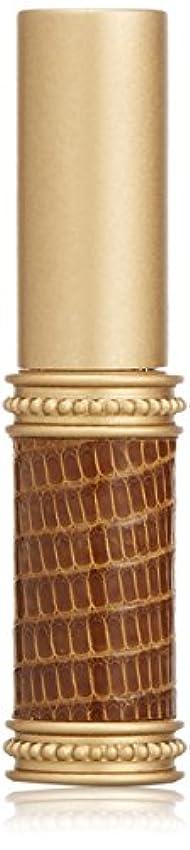 通りゴミ箱ぬいぐるみヒロセアトマイザー メタルリザード 28200 BR (メタルリザード ブラウン) リザード本革巻き