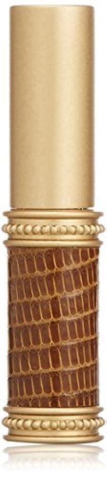 レキシコントレーダー弱めるヒロセアトマイザー メタルリザード 28200 BR (メタルリザード ブラウン) リザード本革巻き