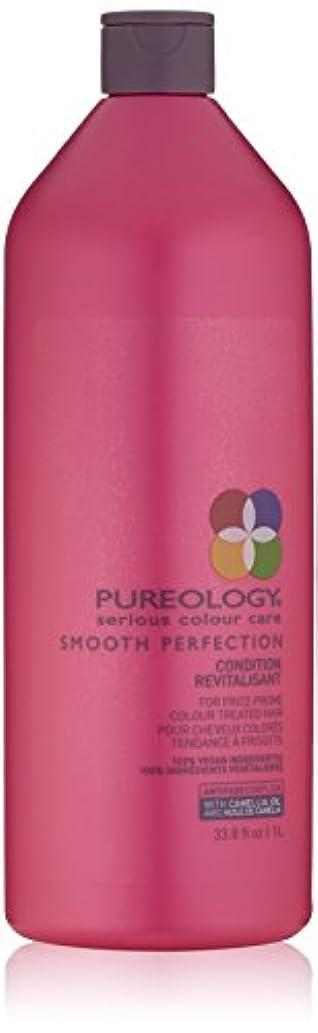 タンカー温度ピニオンby Pureology SMOOTH PERFECTION CONDITION RECVITALISANT 33.8 OZ by PUREOLOGY