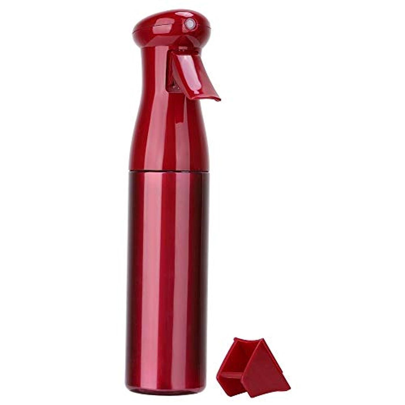 雑多なお手入れ活気づけるNitrip スプレーボトル 霧吹き 極細のミストを噴霧する サロン理髪用 花植えツール 美髪師用 持ち運び便利 3色(赤)