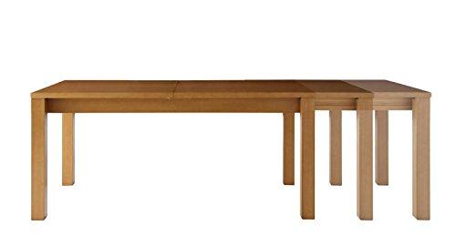「コスパクリエーション」30cmずつ伸ばせる伸縮ダイニングテーブル