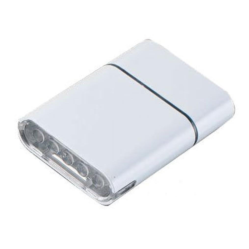 身元基本的なわかりやすいオウルアイ ヘッドライト5LED ホワイト(028416)
