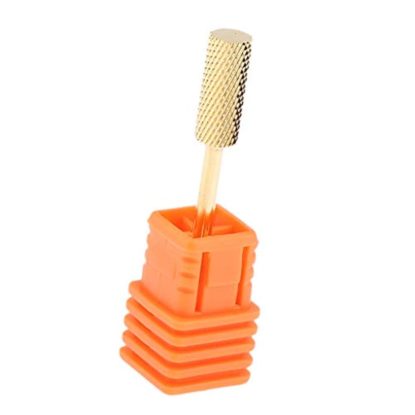 B Baosity ネイルドリルビット 電気 ネイルファイル マニキュア ヘッド 4タイプ選べ - F