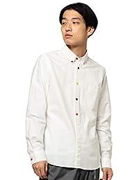 (ビームス)BEAMS/カジュアルシャツ オックスフォード マルチ釦 ハーフプラケットシャツ メンズ