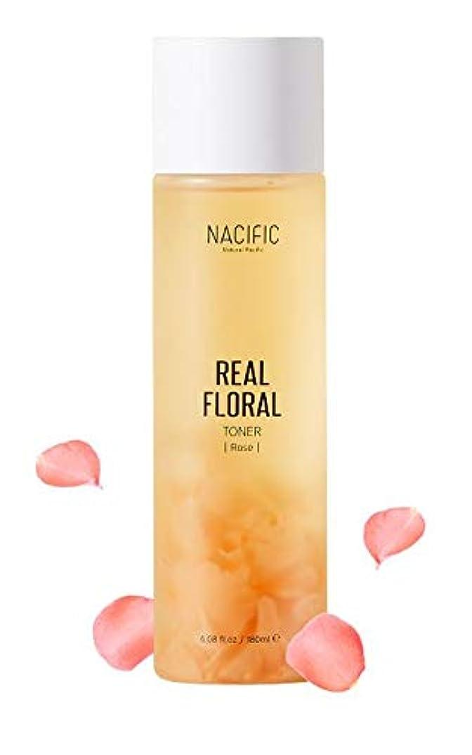 ファックスうなる豆[Nacific] Real Floral Toner(Rose) 180ml /[ナシフィック] リアル フローラル トナー(ローズ) 180ml [並行輸入品]
