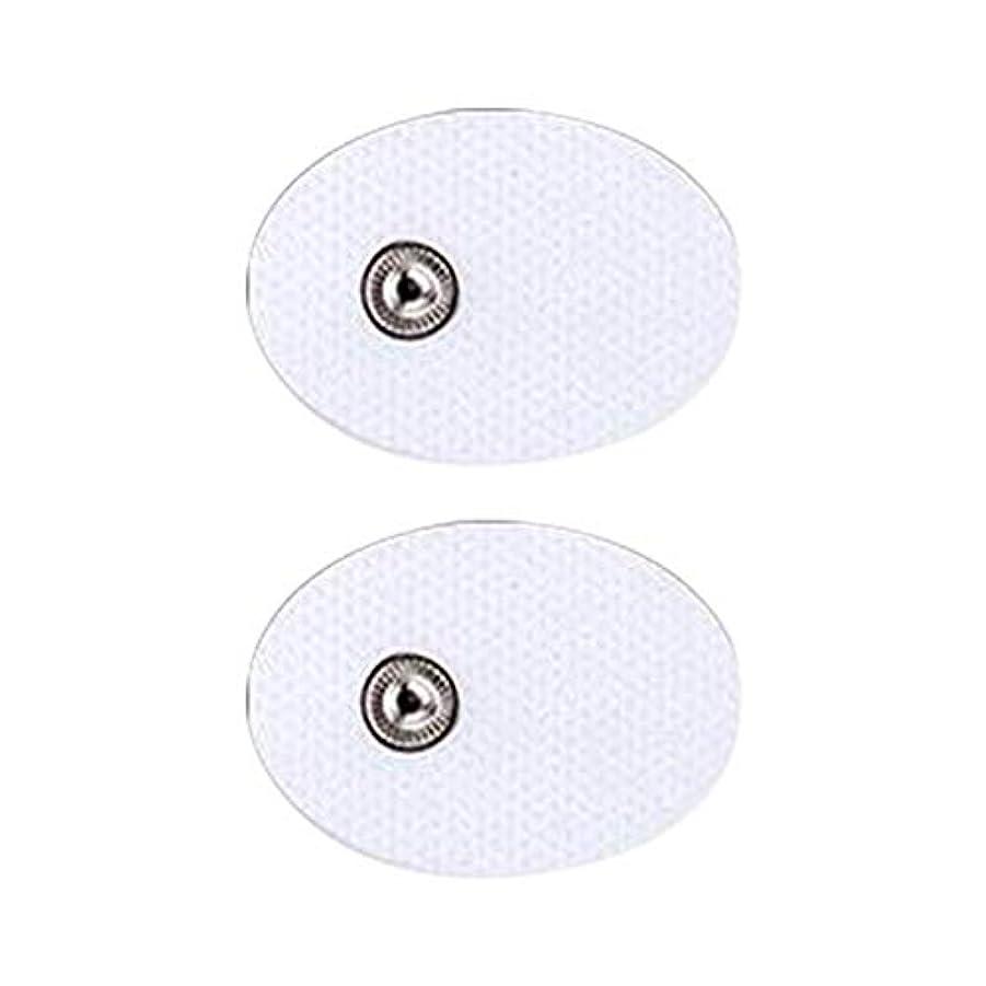 遠洋のより平らなスライス電気TENS 低周波治療器 交換用パッド 迅速で効果的に痛み緩和治療デバイス 全身用電気デジタルパルス刺激マッサージャー 2個 /セット (2A)