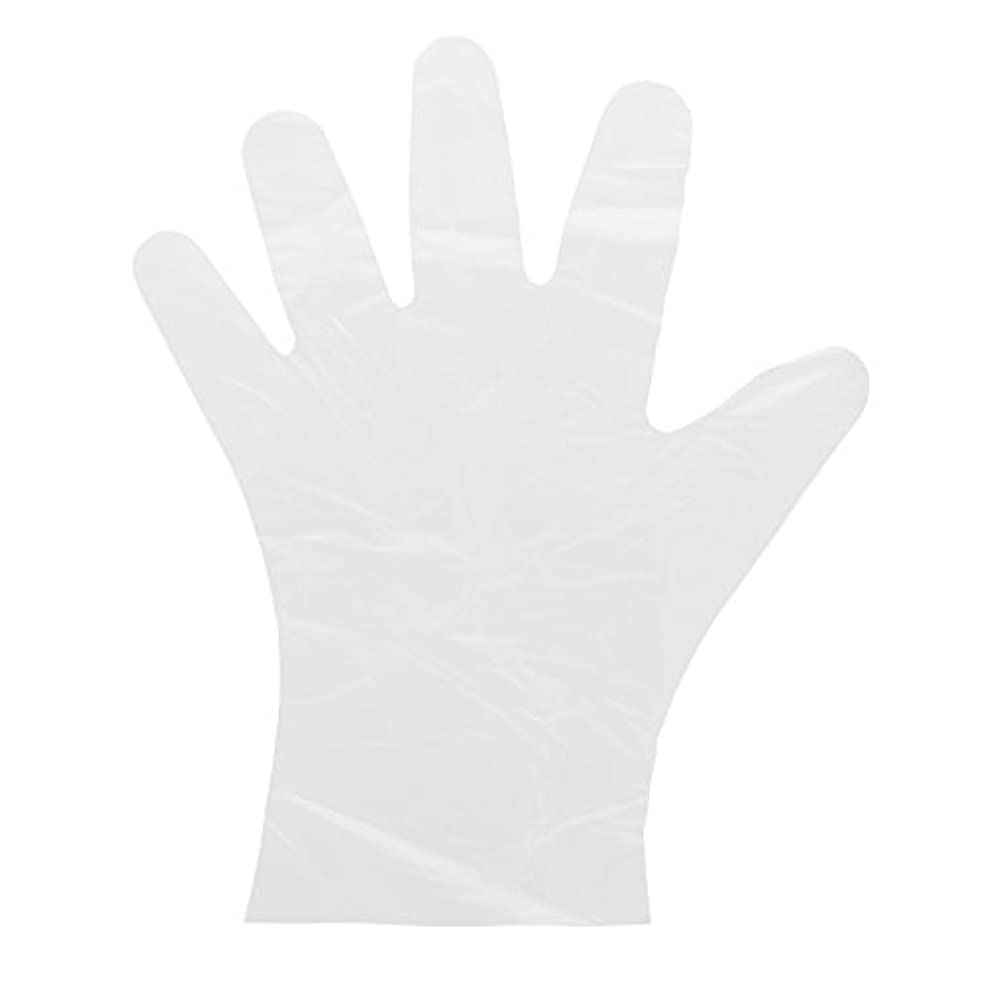 シチリア廃止する男らしいAmercare Foodguard HDPE使い捨て手袋、パウダーフリー、ケースの1000 L 14993-C
