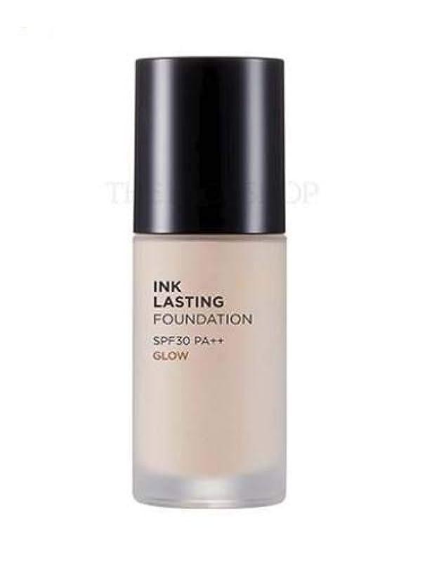 熟達した求人潮[ザ?フェイスショップ] THE FACE SHOP [インクラスティングファンデーション - グロー 30ml] (Ink Lasting Foundation - Glow SPF30 PA++ 30ml) [海外直送品...