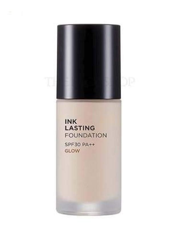 専門スズメバチ巡礼者[ザ?フェイスショップ] THE FACE SHOP [インクラスティングファンデーション - グロー 30ml] (Ink Lasting Foundation - Glow SPF30 PA++ 30ml) [海外直送品...