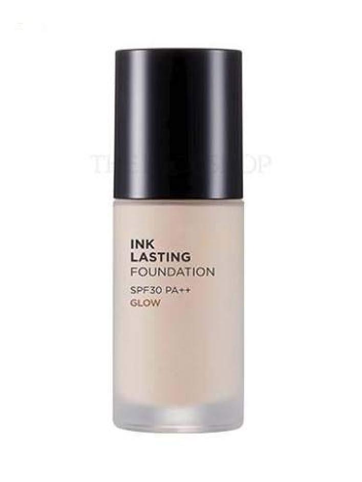 材料ご予約素晴らしい良い多くの[ザ?フェイスショップ] THE FACE SHOP [インクラスティングファンデーション - グロー 30ml] (Ink Lasting Foundation - Glow SPF30 PA++ 30ml) [海外直送品...