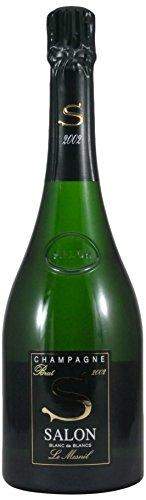 サロン(箱なし)2002  750ml [フランス/スパークリングワイン/辛口/ミディアムボディ/1本]