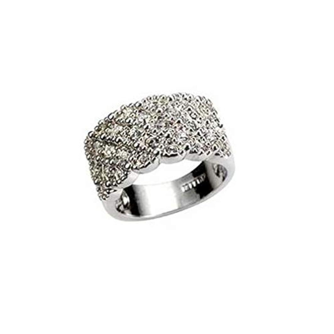 承認する薬用アイデアBEE&BLUE  指輪 リング アクセサリー ギラギラ ラインストーン 豪華な輝き レデイース お洒落