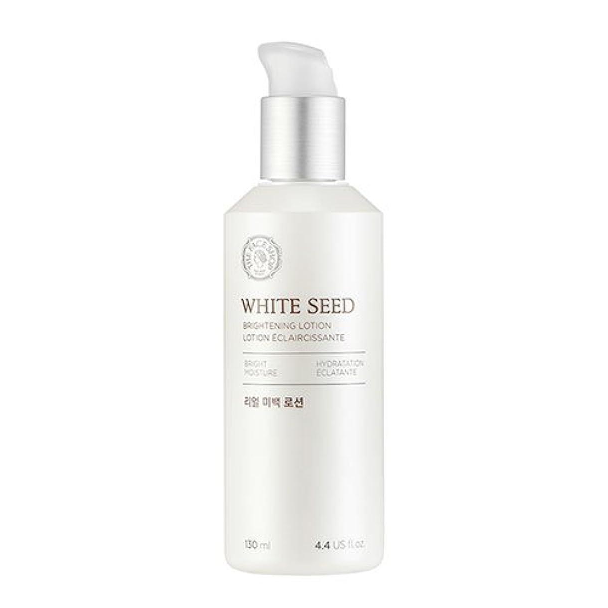 定義繊維動力学ザフェイスショップ(THEFACESHOP) ホワイトシードビライトニングローション 乳液 WHITE SEED BRIGHTNING LOTION 130ml