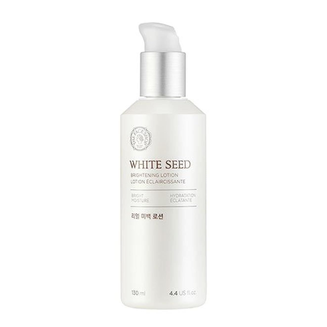 ザフェイスショップ(THEFACESHOP) ホワイトシードビライトニングローション 乳液 WHITE SEED BRIGHTNING LOTION 130ml