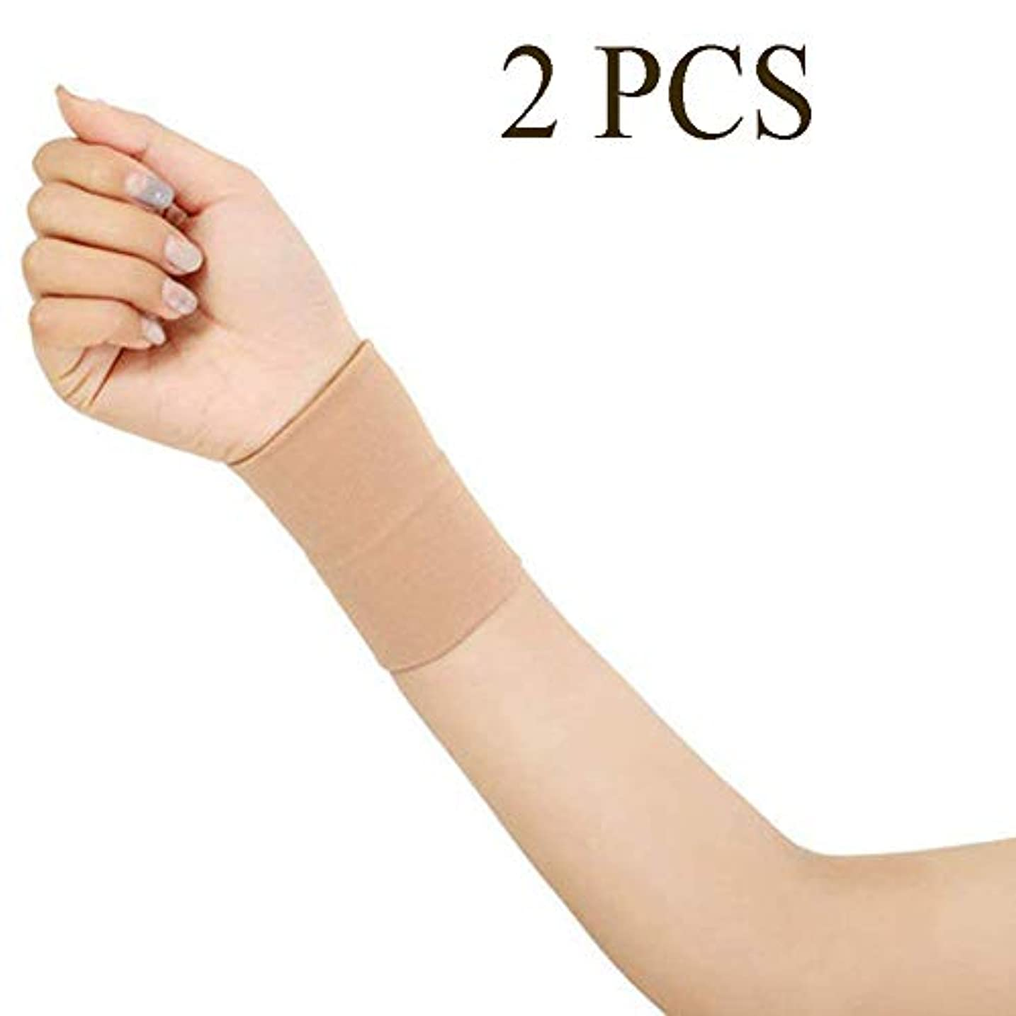 絶壁中古属性テニスジムスポーツ腱鞘炎関節痛1ペアのための手首のサポート圧縮手首スリーブブレースサポート回復ブレースラップスリーブユニセックス,XL