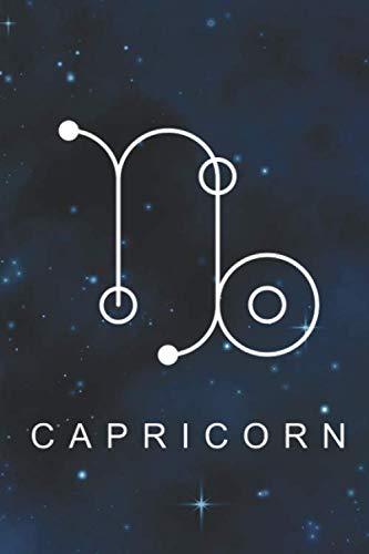 [画像:Capricorn: Zodiac Star Sign Notebook (6 x 9) Inspirational journal for Astrology Lovers, Constellation Notepad with your Horoscope and Star Map -110 lined pages, personalized gift idea]