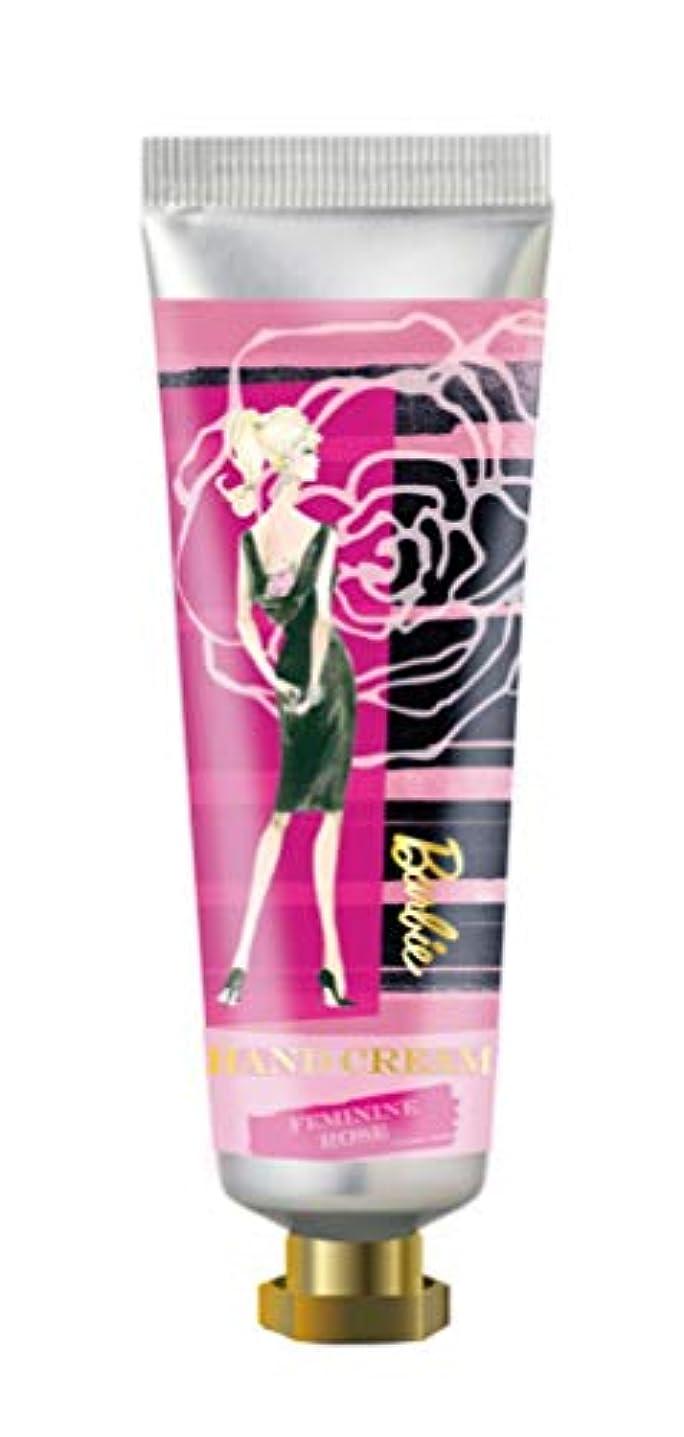 困った不運感情ヒューマンリンク Barbie(バービー) フレグランス ハンドクリーム 60ml (フェミニン ローズの香り) ハンドケア 保湿