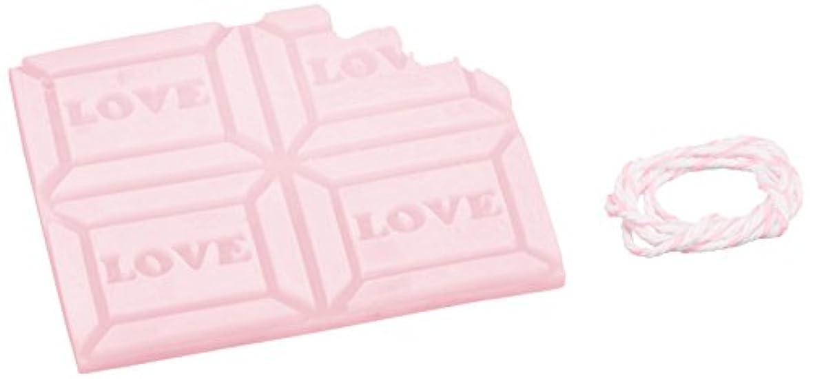 組立倉庫ハムGRASSE TOKYO AROMATICWAXチャーム「板チョコ(LOVE)」(PI) ゼラニウム アロマティックワックス グラーストウキョウ