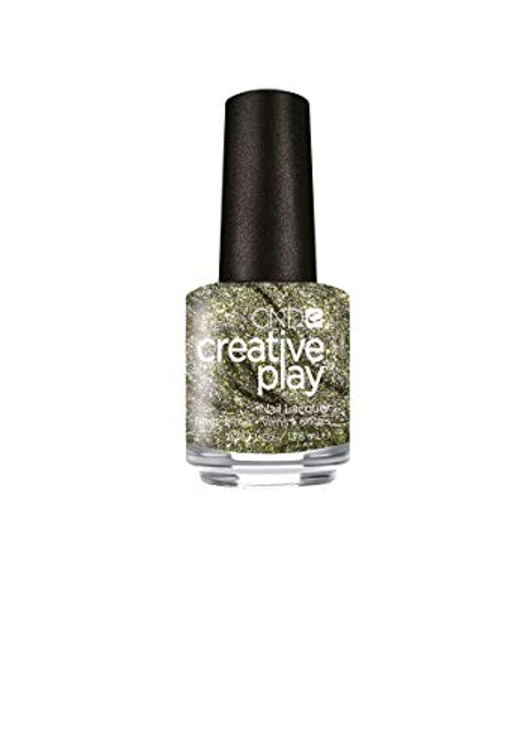 複雑なめるの面ではCND Creative Play Lacquer - O-Live for the Moment - 0.46oz / 13.6ml