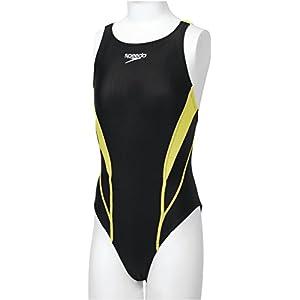 Speedo(スピード) 競泳水着 女の子 ジュニア エイムカットスーツ フレックス ゼロ FINA承認モデル SD36B07 ワイルドライム WL 140