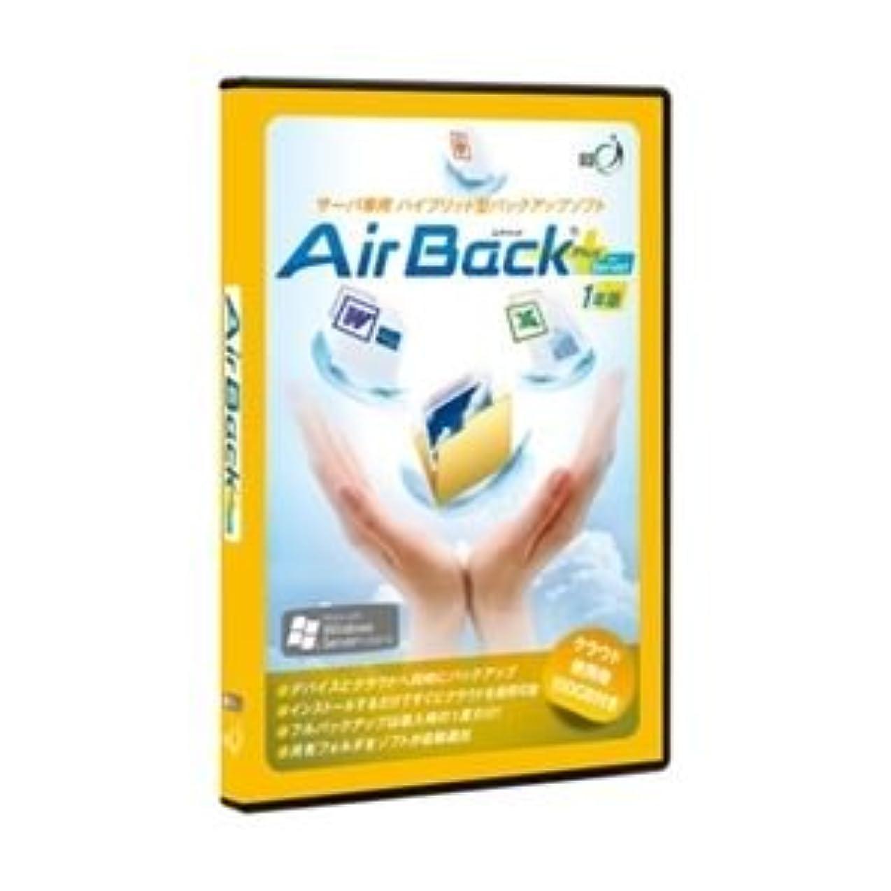 テザー複雑に賛成アール?アイ Air Back Plus for Server 1年版