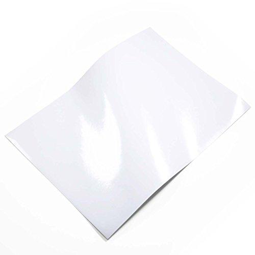 光沢あり 03-ホワイト(白) 1枚 A4サイズ カッティン...