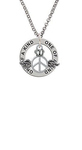 Winged Peace Sign with Crown–One of a Kind Affir...