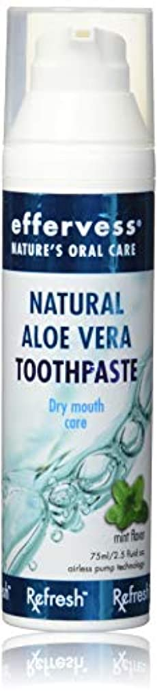 Effervess Rx Refresh Natural Aloe Vera Toothpaste - Dry Mouth Care - Naturally Soothing & Moisturizing - Freshens...