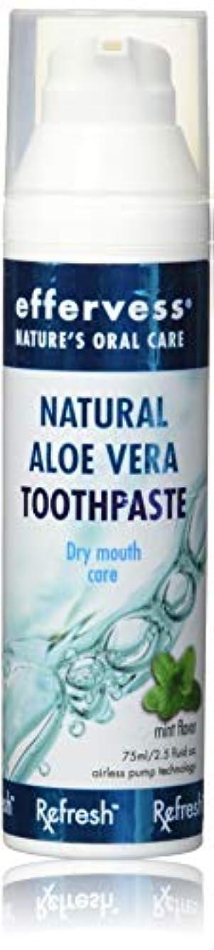 説明的規定メタンEffervess Rx Refresh Natural Aloe Vera Toothpaste - Dry Mouth Care - Naturally Soothing & Moisturizing - Freshens...