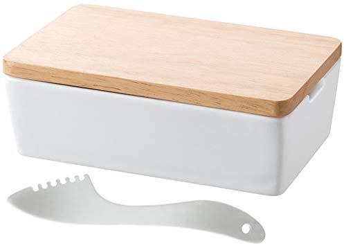 スマイル(SMILE) バターナイフ ナイフ 熱伝導 エンジェルバターナイフ&バターケース レシピブック付き SE804