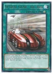 遊英語 緑 SPYRAL GEAR - Big Red(R)(1st)