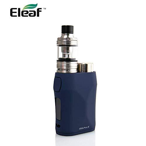 Eleaf iStick Pico X 75W TC Kit 電子タバコ/爆煙/ベイプ スターターキット with Melo 4 Atomizer アトマイザー 直径 22mm 【温度管理機能搭載 プリヒート機能搭載】 ピコエックスvape (Blue ブ