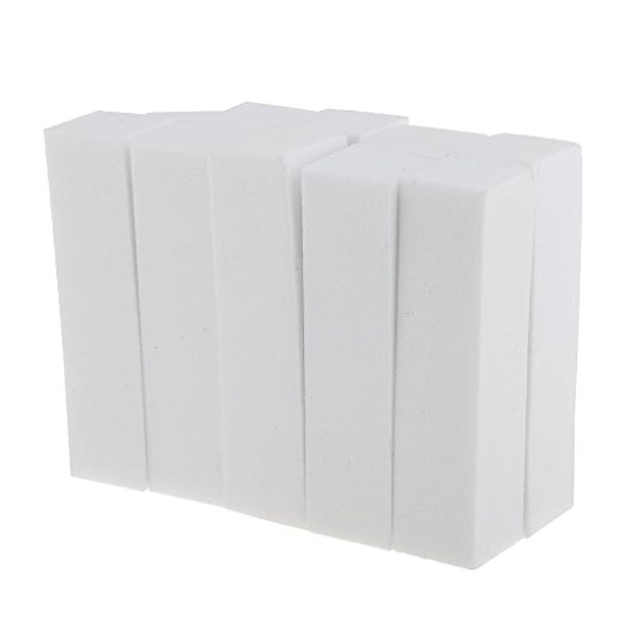 手入れ指標ビンInjoyo 10ピース/個ホワイトフォームネイルアートマニキュアペディキュアバッファーネイルエクステンション、アクリルネイル、ネイルチップ、ナチュラルネイル用