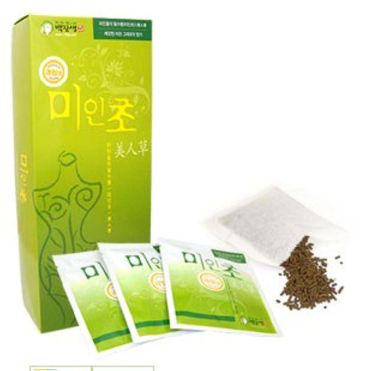 オン曲げる大騒ぎ韓国コスメ-美人草1ケース-韓国美肌韓国漢方草-入浴剤