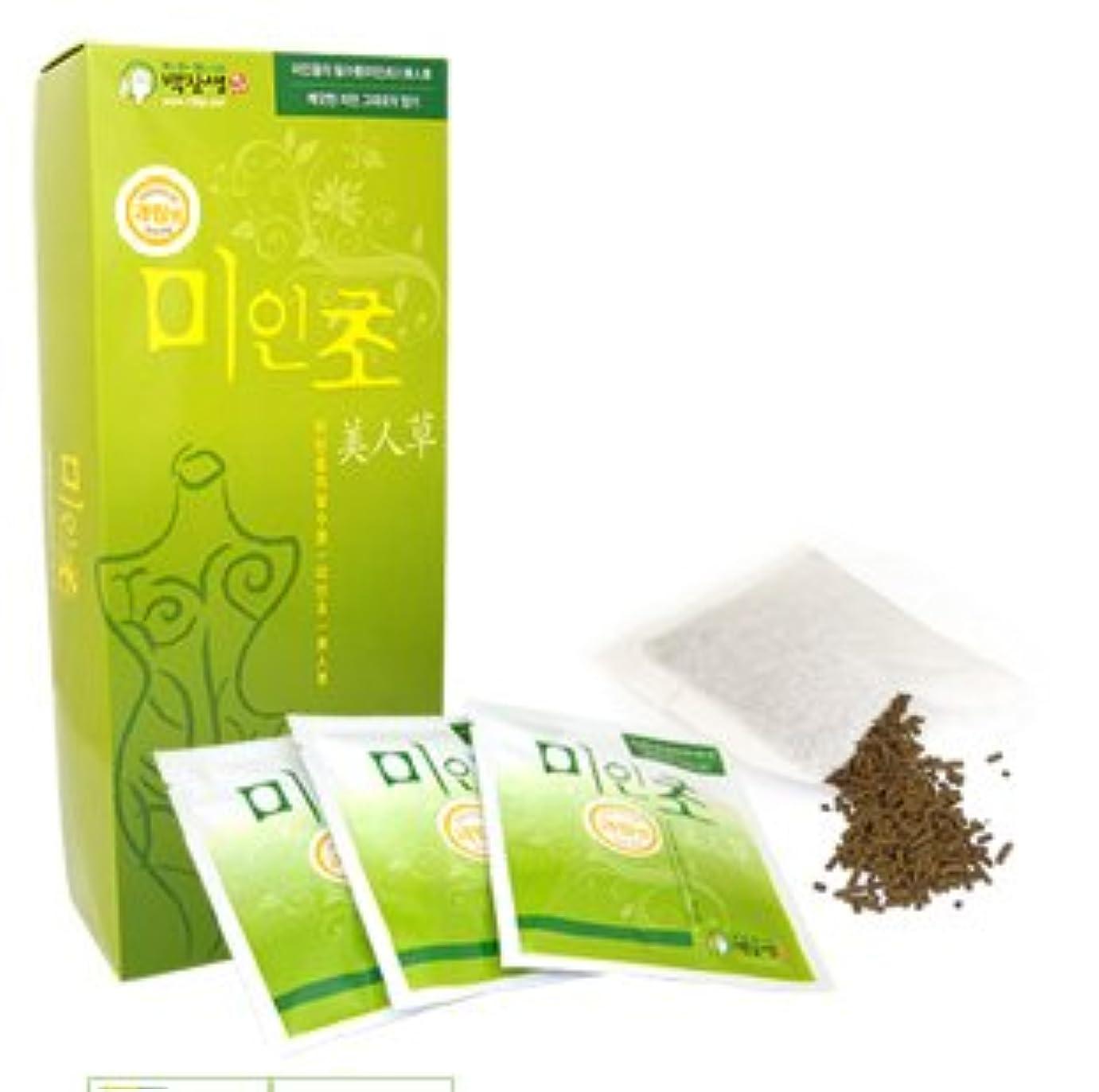 チラチラする疑わしいネイティブ韓国コスメ-美人草1ケース-韓国美肌韓国漢方草-入浴剤