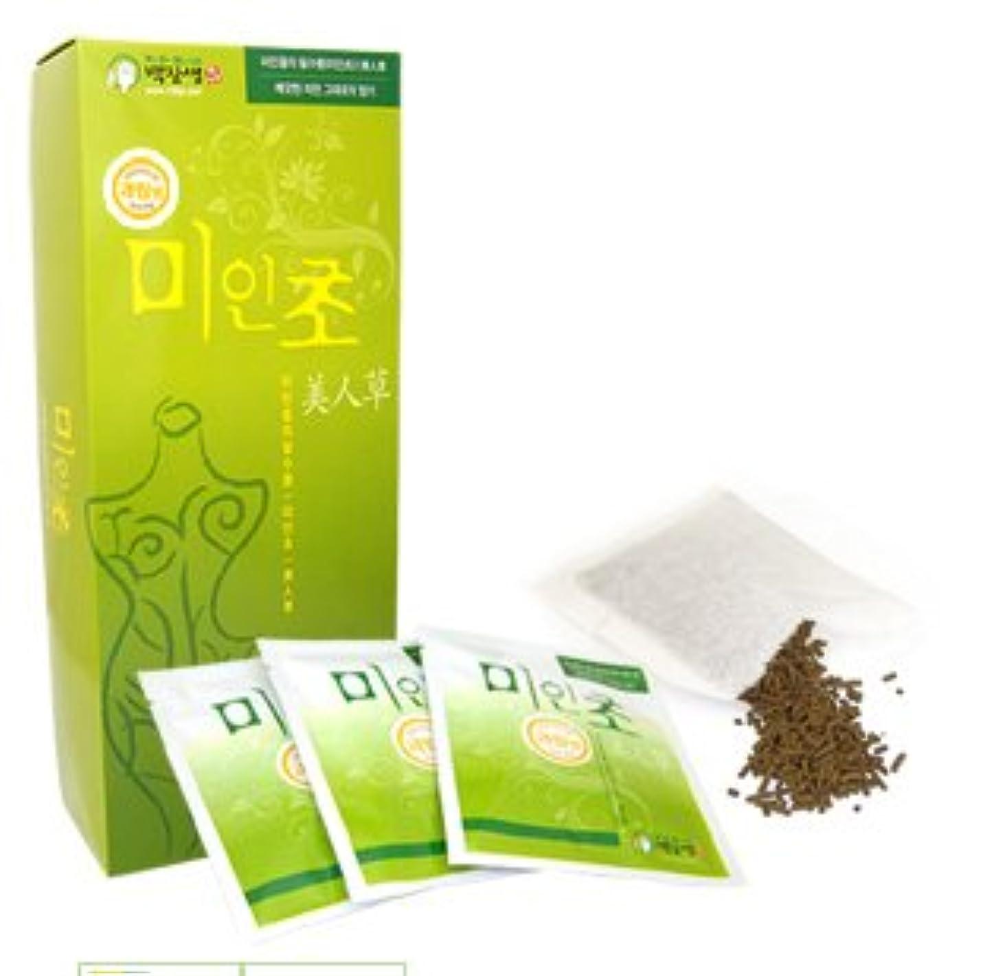 パワー固執動揺させる韓国コスメ-美人草1ケース-韓国美肌韓国漢方草-入浴剤