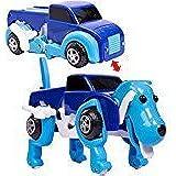 変形ドライブカー 犬 ブルー