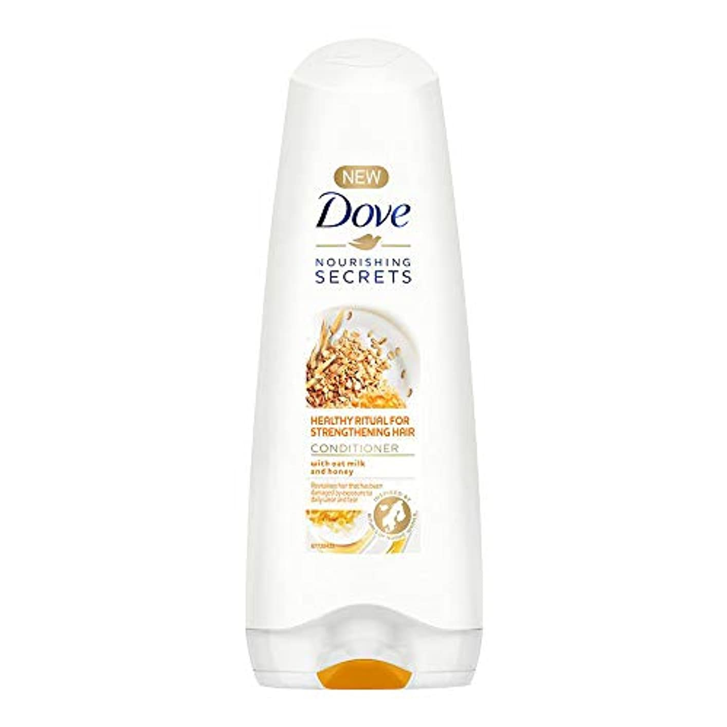 Dove Healthy Ritual for Strengthening Hair Conditioner, 180 ml (Oat Milk and Honey)