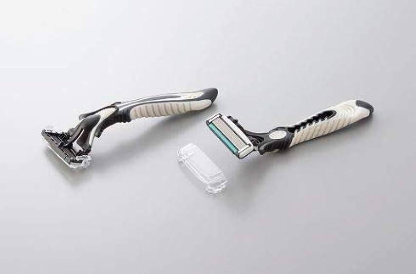daito T字カミソリ バラ バルク ドルコブリッツ 首振り6枚刃 スムーサー付 600本セット