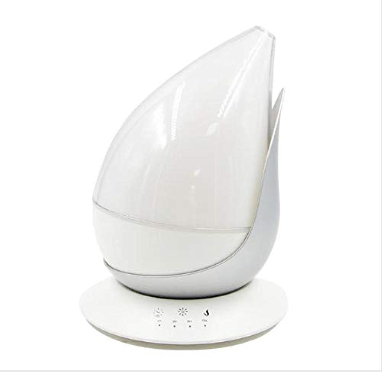 図形をドロップします。 涼しい霧 加湿器,7 色 デスクトップ 加湿機 時間 自動シャット ダウン-オフ 精油 ディフューザー アロマネブライザー ホーム オフィス- 350ml