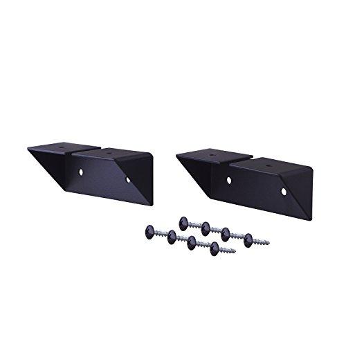 RoomClip商品情報 - 平安伸銅工業 LABRICO DIY収納パーツ 棚受 シェルフサポート アイアン 屋外使用可 ブラック IXK-2