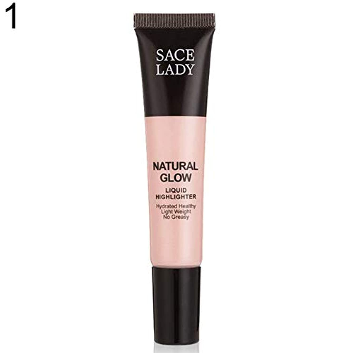 一般爵アルミニウムSACE LADY液体蛍光ペン水和非脂っこい化粧顔ブロンザー - 1#