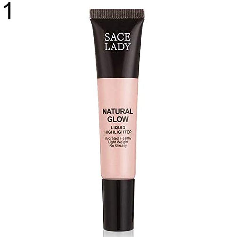 麻酔薬失効そばにSACE LADY液体蛍光ペン水和非脂っこい化粧顔ブロンザー - 1#