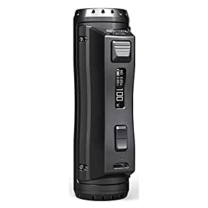 Ehpro Cold Steel 100 120W TC Box MOD デザイン抜群のシングルバッテリーMOD (Black Obisdian)