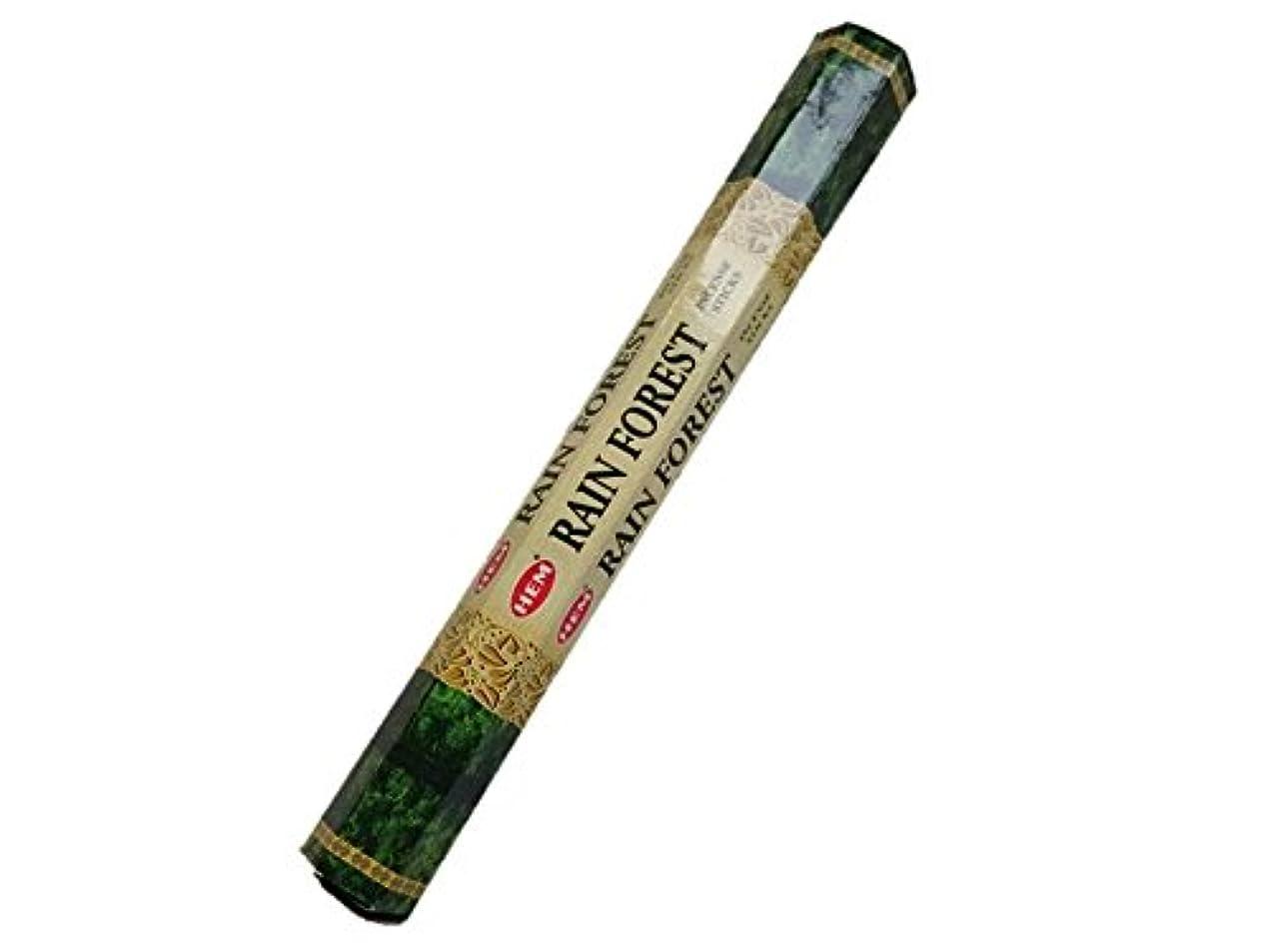 すき蒸発する分類HEM(ヘム)お香:レインフォレスト スティックお香/インセンス/1箱