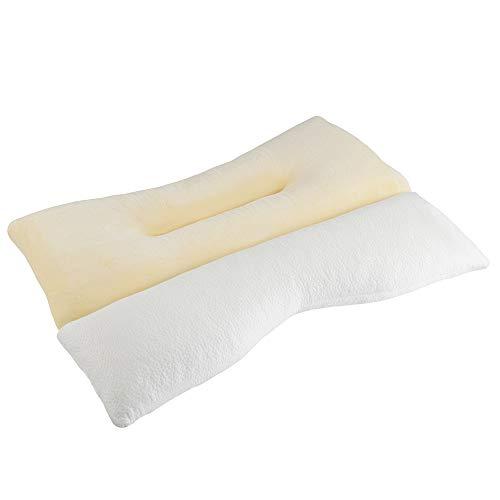 ACOGEDOR ストレートネック 枕 ネックフィット枕 高さ調整 まくら 首 頸椎 肩こり 安眠 いびき防止 マクラ パイプ ピロー 38×58cm