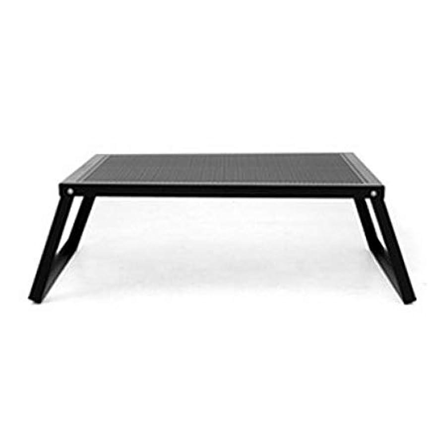 代表する財産輪郭オーヴィル(auvil) ブラックラウンジテーブル FL001