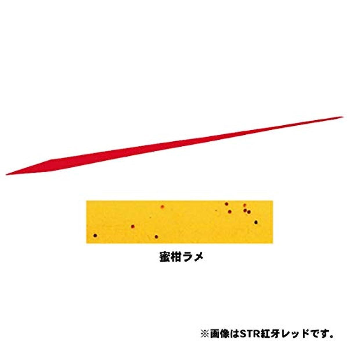 椅子致命的な含めるダイワ(Daiwa) タイラバ シリコンネクタイ 紅牙 蜜柑ラメ ストレート レギュラー
